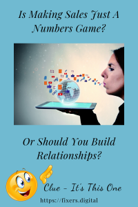 Unsolicited email is not how to build relationships