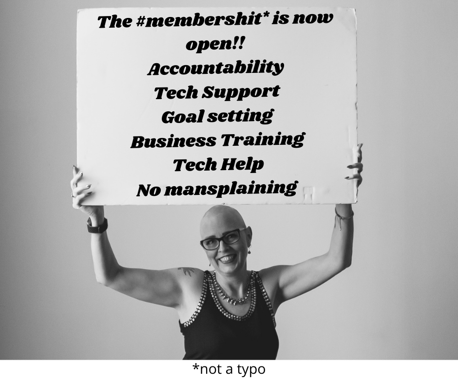 The Membershit is open